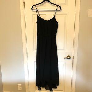 Black Floaty Dress from Banana Republic